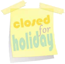 closed-holiday